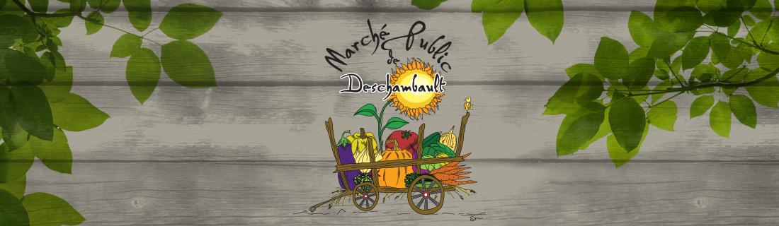 Bannière Marché public de Deschambault